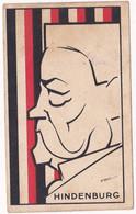 Chromo : Chocolat Révillon : Silhouettes Modernes : HINDENBURG - N° 16 : Illustrateur - Thil - Revillon