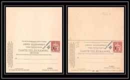 1430 France Entier Postal Stationery Pneumatique Chaplain 50c Rouge Taxe Réduite A 30c D8 Neuf Avec Réponse Payee Tb - Neumáticos