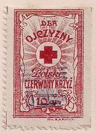 WW1 ERA CINDERELLA - VIGNETTE- POLAND VINTAGE RED CROSS - Erinnophilie