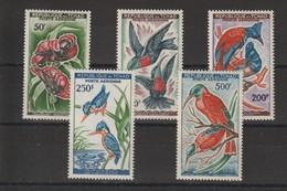 Tchad 1961-63 Oiseaux PA 2-6 5 Val ** MNH - Chad (1960-...)