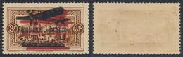 Grand Liban - Poste Aérienne (PA) : Yv N°33b ** Neuf Sans Charnières (MNH) / Variété De Surcharge (double) - Líbano