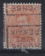 Koning ALBERT I Nr. 135 Type II Voorafgestempeld Nr. 2791 D RONSE 1922 RENAIX ; Staat Zie Scan ! - Roller Precancels 1920-29