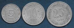 Saint Gaudens   -  5 C  - 10 C  Et 25 C - Monetary / Of Necessity