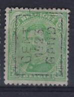 Koning Albert I Nr. 137 Type II Voorafstempeling Nr. 3063A GENT 1923 GAND ; Staat Zie Scan ! - Roller Precancels 1920-29