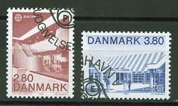 Danemark - Dänemark - Denmark 1987 Y&T N°897 à 898 - Michel N°895 à 896 (o) - EUROPA - Usati