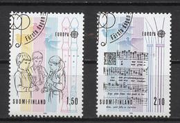 Europa CEPT 1985 Finlande - Finnland - Finland Y&T N°932 à 933 - Michel N°968 à 969 (o) - 1985