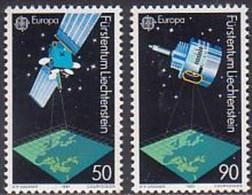 EUROPA LIECHTENSTEIN Yv 952/3 MNH Neufs** - - 1991
