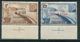 REUNION- Y&T N°249 Et 250- Neufs Sans Charnière ** - Unused Stamps