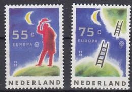 EUROPA PAYS BAS Yv 1379/80 MNH Neufs** - - 1991