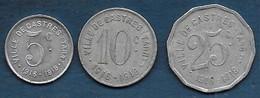 Castres   -  5 C  - 10 C  Et 25 C - Monetari / Di Necessità