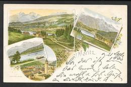 ST. MORITZ LITOGRAFICA 1900 N°C049 - GR Grisons