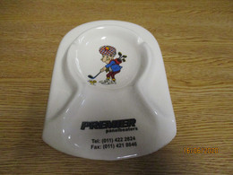 Old Vieux Ashtray Cendrier Ceramique Golf Sport - Apparel, Souvenirs & Other
