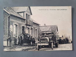 VILLERET Grande Rue Café Landrieu  .  État :  Très Bon - Sonstige Gemeinden