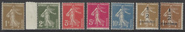 France - 1932-37 - Y&T 277A à 279B ** (MNH) (sans Le 277B) - Nuovi
