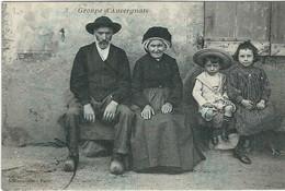 Puy De Dome, Types Auvergne : Groupe D'Auvergnats - Auvergne Types D'Auvergne