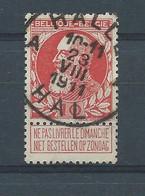 "N°74  OBLITERE ""HALLE(BILINGUE)"" - 1905 Barbas Largas"