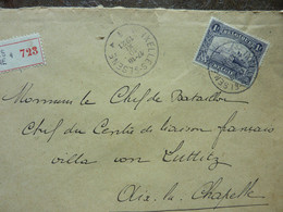 1921  Lettre  1 Timbre 1F    CachetI   IXELLES  ELSENE    PERFECT - Covers & Documents