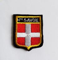 Ecusson Brodé Blason Tissu Haute Savoie -  Hauteur 6 Cm - Patches