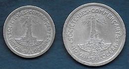 Royan - Lot De 2 Monnaies - Monetari / Di Necessità