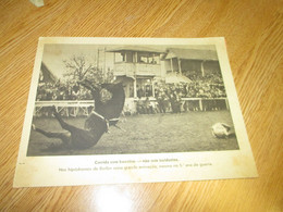 Old Vieux Photo Horse Racing Germany Allemagne Berlin WWII Seconde Guerre Mondiale Course De Chevaux - Altri