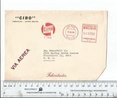 Bolivia La Paz To Cincinnati Ohio Dec 15 1959 Meter Franking ...........................(Box 8) - Bolivia