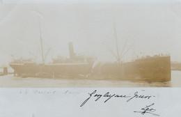 A IDENTIFIER - CARTE-PHOTO DE 1899 - UN NAVIRE.... - Ohne Zuordnung