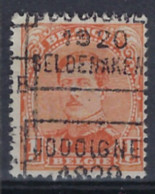 Albert I Nr. 135 Type II Voorafgestempeld Nr. 2504 C JODOIGNE 1920 GELDENAKEN ; Staat Zie Scan ! - Roller Precancels 1920-29