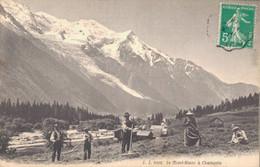 H0109 - Le Mont Blanc à CHAMONIX - D74 - Chamonix-Mont-Blanc