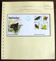54400 Barbades Barbados Fdc 1991 Phila Nippon 91 Papillons Papillon Schmetterlinge Butterfly Butterflies Neufs ** MNH - Butterflies