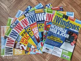 Lot 9 Magazines Windows Et Internet Pratique - Informatique