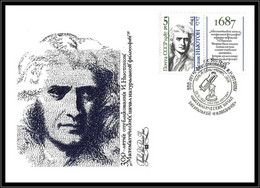 65365 N°5446 Newton 6/10/1987 Espace Space Russie Russia Urss USSR Lettre Cover - Rusland En USSR