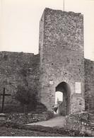 MONTERIGGIONI-SIENA-INGRESSIO AL PAESE CARTOLINA VERA FOTOGRAFIA NON VIAGGIATA-1952-1958 - Siena