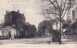 RARE Clermont Ferrand Boulevard Gergovia Pris De L'avenue Des Paulines Commerce J.BICHARD Chaux Cimenst Platres Briques - Clermont Ferrand