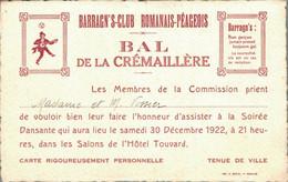 H0109 - BARRAGN'S-CLUB - BAL DE LA CREMAILLERE - Other