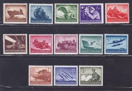 ALLEMAGNE N°  791 à 803 ** MNH Neufs Sans Charnière, Quelques Adhérences Sur La Gomme B/TB - 1944 - Nuevos