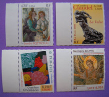 Tableau - 2000 -  N° 3301 ** 3309 ** 3350 ** 3359 ** - Collections