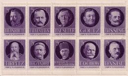 Germany/Austria/Hungary Cinderella Österreich WWI Fliegerheim War Fund - 1 Block 10 W/ Dr Blade Flaw Rxtra Rare!!!! - Erinnophilie