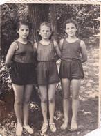 RUSSIA.#6320 PHOTO. CHILDREN. GIRLS IN PANTS. SUMMER. *** - Otros