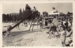 BIEL Bienne (BE) Strandbad - Plage - FOTOKARTE - Ed. K. Huber - BE Berne