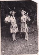 RUSSIA.#6322 PHOTO. CHILDREN. GIRLS IN CARNIVAL SUIT. BUTTERFLIES. *** - Otros
