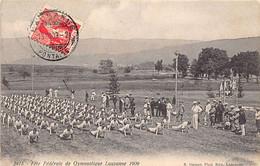 LAUSANNE (VD) Fête Fédérale De Gymnastique En 1909 - Ed. Steiner 2415 - VD Vaud