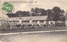 LAUSANNE (VD) Fête Fédérale De Gymnastique En 1909 - Ed. Steiner - VD Vaud