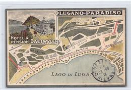 LUGANO (TI) Hotel & Pension Daetwyler - TI Tessin
