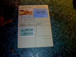 Vieux Papier Carte De Chasse Fédération Chasseurs Hte Marne  Campagne 1993/94 Avec Fiscal Et Vignettes  Grand Gibier ,.. - Sonstige
