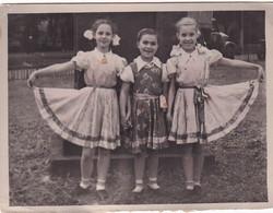 RUSSIA.#6328 PHOTO. CHILDREN. GIRLS IN A BEAUTIFUL DRESS. *** - Otros