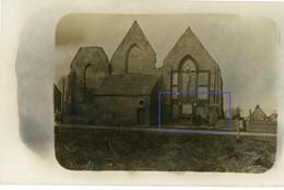 Allemande Carte Photo - Keien Keyem Flandern Diksmuide Kerk  WWI 14/18 - 1914-18