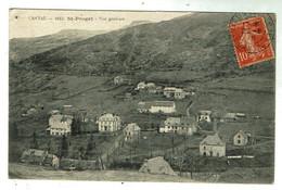 SAINT PROJET De SALERS - Vue Générale - Circulée 1915 - Bon état - Other Municipalities