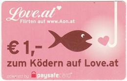 Credit Card A-474 Austria - Cartoon, Animal, Fish - Used - Sonstige
