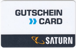 Gift Card A-487 Austria - Saturn / Electronic Store - Used - Gift Cards