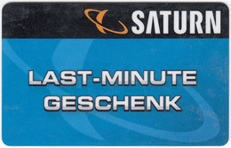Gift Card A-490 Austria - Saturn / Electronic Store - Used - Gift Cards